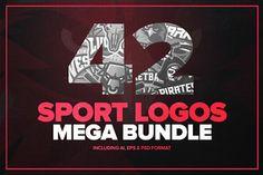 42 Sport logos MEGA BUNDLE
