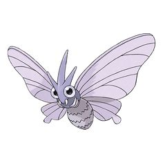 Venomoth Stats - Strategy, Moveset, Location, Breeding