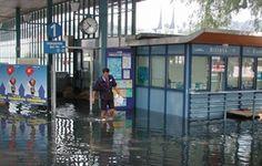 vor 10 Jahren - Hochwasser in Luzern 2005