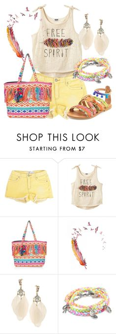 """""""Fun Tote"""" by annetkor ❤ liked on Polyvore featuring ASOS, Ettika and Elina Linardaki"""