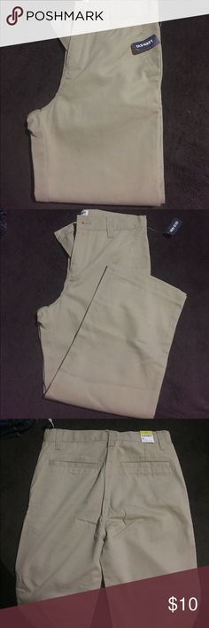 Old navy pants Old Navy straight pants . Size 12 husky . New with tags Old Navy Bottoms Casual