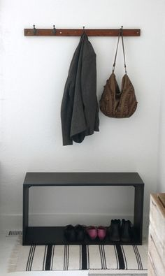 Tips for Dealing with a No-Entryway Entryway Renters Solutions | Apartment Therapy