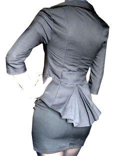 HENRIETTA jacket by lauragalic on Etsy, $170.00    Bowtie tough