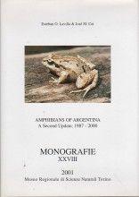 Amphibians of Argentina - A Second Update, 1987-2000 José Miguel Cei, Esteban O. Lavilla Ed., 1ª edição, 2001 ISBN: 88-86041-41-1  Tipo: Capa dura  Número de páginas: 186