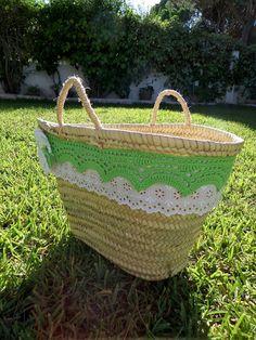 Areia: CAPAZOS DE PLAYA Straw Bag, Picnic, Basket, Blog, Crafts, Outdoor, Inspiration, Outdoors, Biblical Inspiration