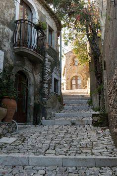Old Street in Sicily