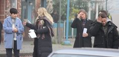 "Robert Carlyle, Jennifer Morrison, Ginnifer Goodwin,  and Sean Maguire - Behind the scenes - 5 * 12 ""Souls of the Departed"" - 4 November 2015"