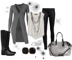 Comfy Cardy - Polyvore