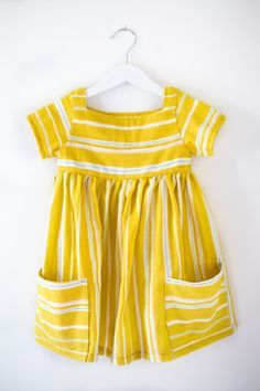 Sally dress for Astrid by Clara Falk | Project | Sewing / Kids & Baby | Dresses | Kollabora