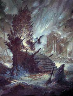 Iron Throne #got #agot #asoiaf