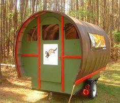 Build your own Gypsy Caravan: book and kit. Order plans at http://www.amvardo.com/caravan/plans_templates.html