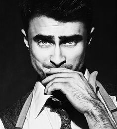 Ummmm *jaw on floor* Daniel Radcliffe. Click through for bonus picture.