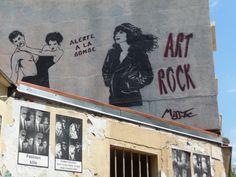 Miss.Tic, quartier La Butte aux Cailles / Paris. 2014
