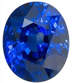 Blue Sapphire Loose Gemstone, Oval Cut, 8.9 x 7.3 mm, 3.22 Carats at BitCoin Gems