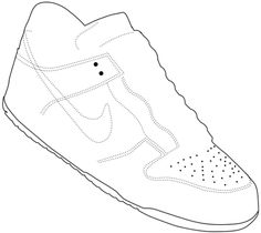 Shoe Templates - Learn how to create a Nike Shoe template. Shoe Template, Quiet Book Templates, Nike Shoes, Sneakers Nike, High Fashion Models, Art Worksheets, Fashion Templates, Cheap Designer Handbags, Handbags Online