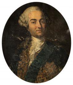 Ecole FRANCAISE du XVIIIème siècle - Portrait du comte d'Eyck - Huile sur toile [...], Les Appartements Parisiens à Millon et Associés Paris