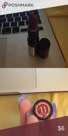 Kate moss rimmel lipstick Shade 11, dark red Rimmel Makeup Lipstick