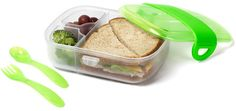 Loving this @Munchkin Bento Box Mealtime Set for #backtoschool