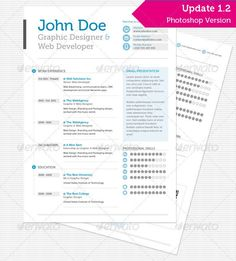 clean professional resume minimal graphic designgraphic