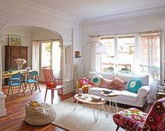 Jurnal de design interior - Explozie de culoare într-un apartament de 150 m²...