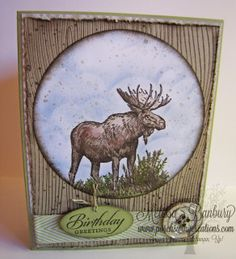 Porch Swing Creations: Masculine Moose Birthday