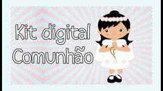Kit Digital Minha primeira Comunhão I