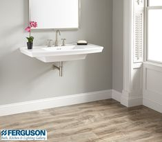 The Signature Hardware Rotunda Collection is a full bathroom collection that includes showering and accessories, available in 7 custom finishes. Find it exclusively at your local Ferguson Showroom. Double Sink Bathroom, Master Bathrooms, Bathroom Sink Faucets, Ferguson Showroom, Widespread Bathroom Faucet, Bathroom Collections, Creative Home, Polished Nickel, Contemporary