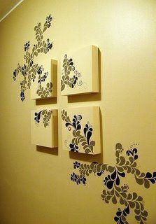 Decoração na parede