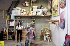 Kuh Del Rosario | In The Make | Studio visits with West Coast artists