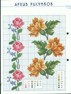 This Pin was discovered by Yağ Cross Stitch Bookmarks, Cross Stitch Rose, Cross Stitch Borders, Cross Stitch Flowers, Cross Stitch Charts, Cross Stitch Designs, Cross Stitching, Cross Stitch Embroidery, Embroidery Patterns
