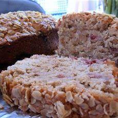 Oatmeal Strawberry Bread Recipe