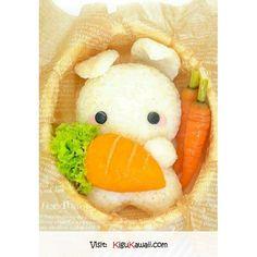 Kawaii Usagi Bento | Cute Food | Pinterest