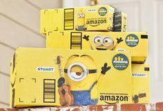 amazon minion boxes