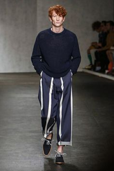 E. Tautz Menswear Spring Summer 2015 London