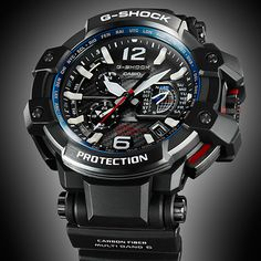 World's First GPS Hybrid Wave Ceptor G-Shock Gravitymaster Two mutually complementary time correction systems are integr. Big Watches, G Shock Watches, Best Watches For Men, Casual Watches, Sport Watches, Cool Watches, G Shock Mudmaster, Atomic Watch, Casio G-shock