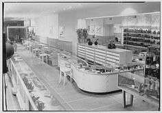 The Glove Shop, business at 260 Fulton Ave., Hempstead, Long Island, New York. Interior detail V