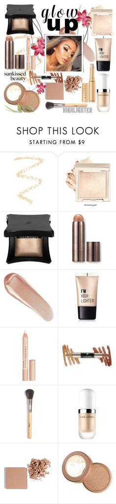 """Glow Up: Glam Highlighters"" by colierollers ❤ liked on Polyvore featuring beauty, Topshop, Illamasqua, Laura Mercier, NARS Cosmetics, Charlotte Russe, Chantecaille, Marc Jacobs, Trish McEvoy and Lancôme"