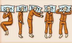 Découvrez ce que signifie la position dans laquelle vous dormez ! - Page 2 sur 2 - Astuces de grand mère