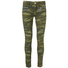 Modstrom Justine camouflage denim ($23) ❤ liked on Polyvore featuring jeans, pants, bottoms, pantalones, skinny fit jeans, camo skinny jeans, denim jeans, highwaisted skinny jeans et high waisted denim skinny jeans