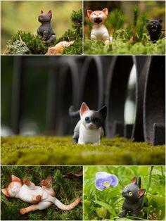 Pre-order. Kitten 3D bjd doll 45cm 55cm 65cm by WalloyaMorringShop