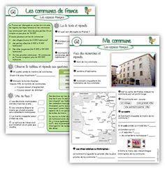 les espaces français CM1