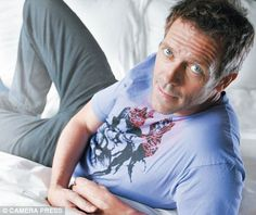 Is Hugh Laurie the new George Clooney? The actor on how he's set pulses racing as TV's moodiest medic