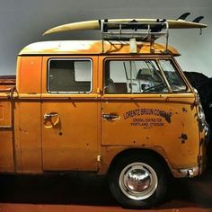 sweet double cab surf truck  ☮ re-pinned by http://www.wfpblogs.com/category/southfloridah2o