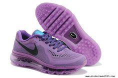 Womens Nike Air Max 2014 Purple Black Shoes Buy?For Sale