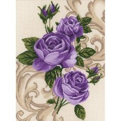 click here to view larger image of Roses (counted cross stitch kit)