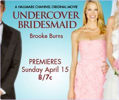 Movie #17:  UNDERCOVER BRIDESMAID.  Yes, I watched it.  Yes it's a Hallmark Channel Original.  Yes it counts!