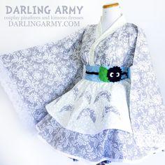 Totoro Cosplay Kimono Dress Wa Lolita Skirt Accessory | Darling Army