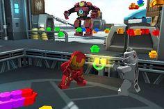 Флеш игра - Лего: Мстители