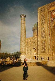 Carolynne in Samarkand, Uz