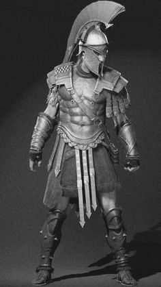 Knight Tattoo, Armor Tattoo, Greek And Roman Mythology, Greek Gods, Pantheon Lol, Spartan Tattoo, Greek Soldier, Medieval Drawings, Greek Warrior
